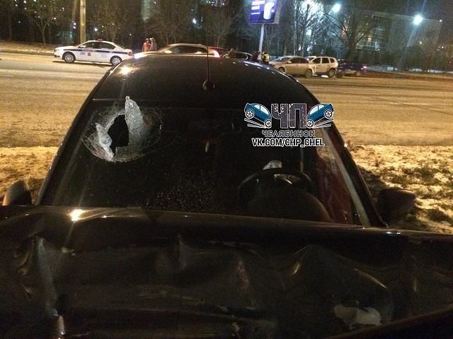 На Южном Урале пассажир пробил головой лобовое стекло