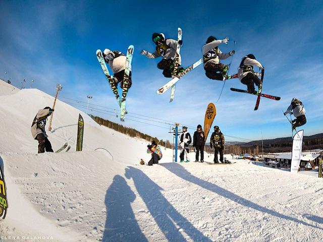 В «Солнечной долине» состоится открытие сноуборд-парка