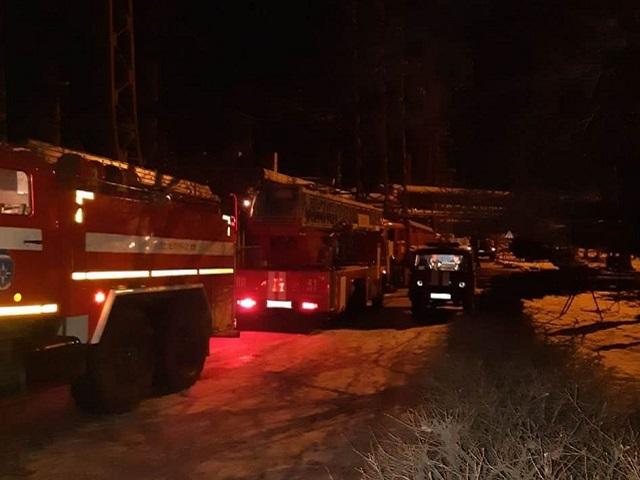 В Челябинской области произошел крупный пожар на Троицкой ГРЭС