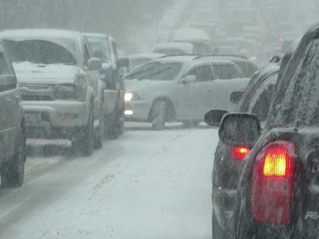Пробки в Челябинске с утра «набрали» восемь баллов