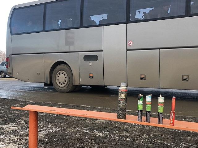 На Южном Урале полиция устроила обыск в автобусе с болельщиками ХК «Трактор»