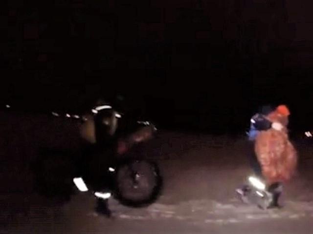 Замерзающего велосипедиста спасли на челябинском водохранилище