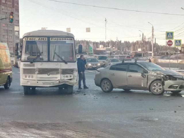 На Южном Урале пассажиры автобуса пострадали в ДТП