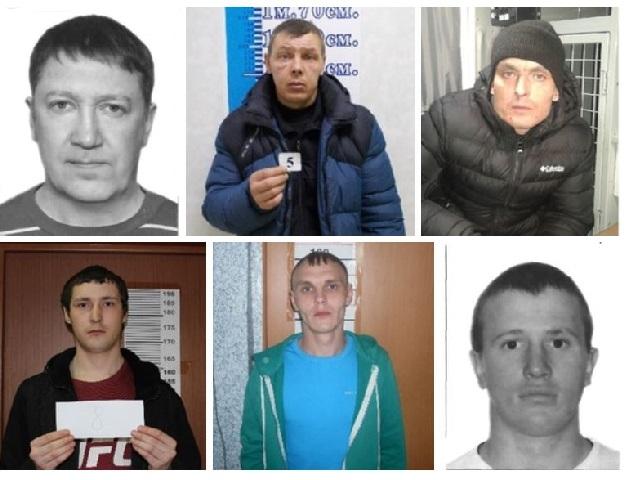 Полиция Миасса разыскивает шестерых мужчин, подозреваемых в совершении преступлений