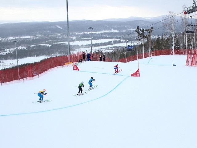 В «Солнечной долине» завершился первый этап Кубка России по ски-кроссу