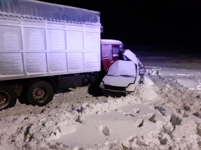 Пять человек разбились насмерть в ДТП с грузовиком на трассе в Челябинской области