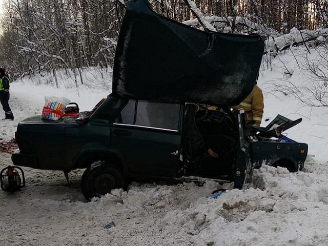 В Ашинском районе в ДТП погибли два человека