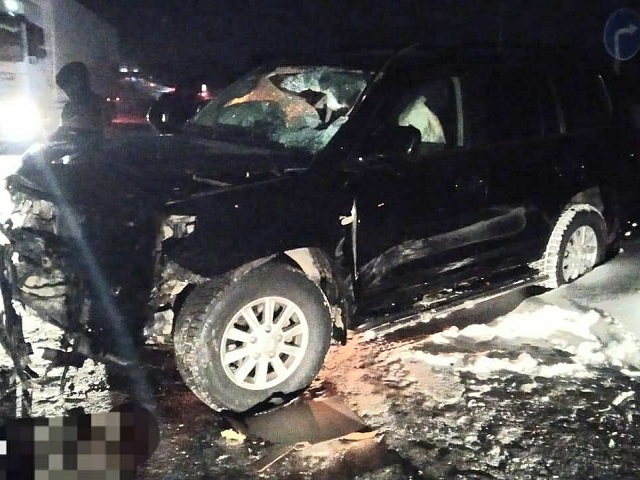Водитель из Челябинской области и его пассажирка пострадали в лобовом ДТП под Уфой