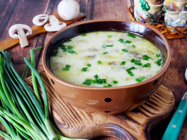 Супы из шампиньонов: 10 оригинальных рецептов на любой вкус