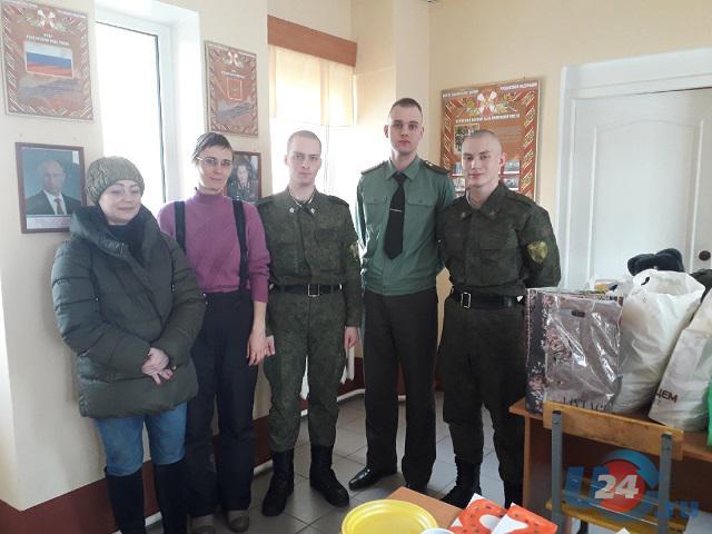 В Челябинской области волонтеры поздравили с Днем защитника Отечества солдат-сирот