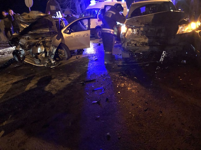 В Челябинской области пьяный водитель устроил массовое ДТП