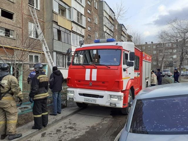 На Южном Урале мужчина погиб при пожаре в многоэтажке