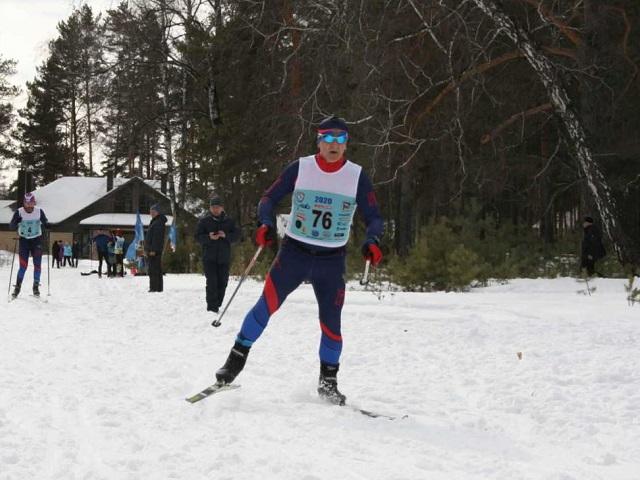 Спортсмены встретили весну традиционным лыжным марафоном