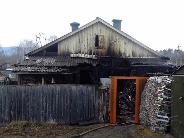При пожаре в Миассе погибла пожилая женщина
