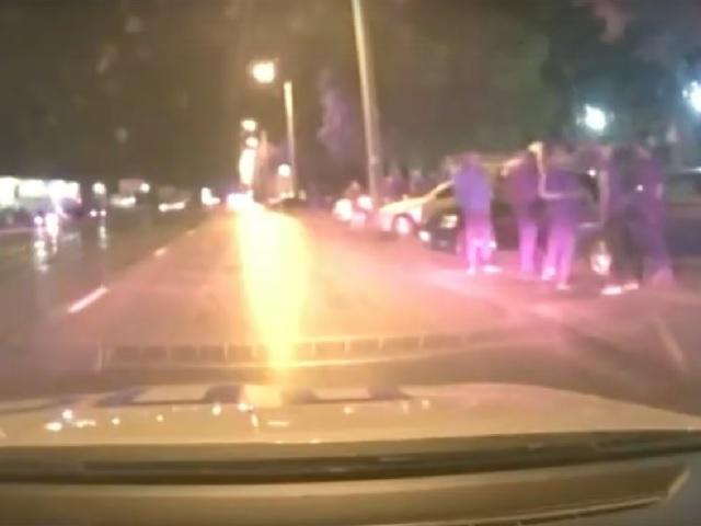 На Южном Урале полицейские остановили массовую нелегальную автогонку