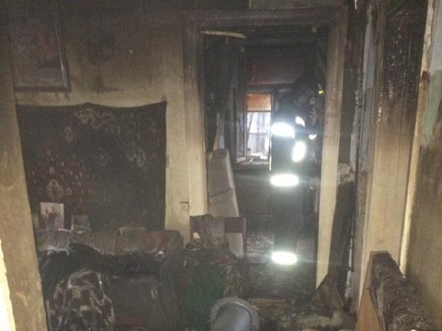На Южном Урале 94-летняя женщина погибла на пожаре в частном доме