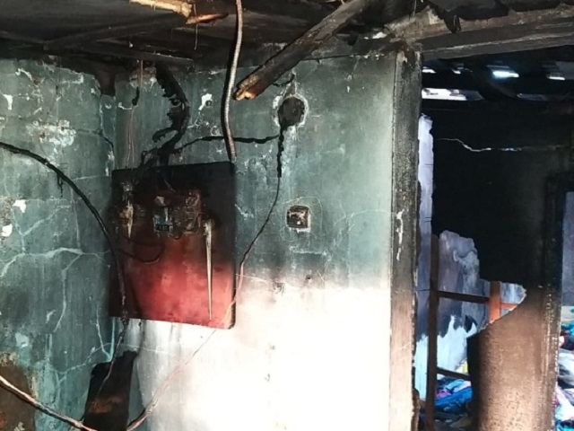 В Челябинской области доброволец спас двоих детей на пожаре