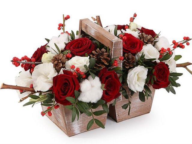 ТОП-5 самых популярных цветочных букетов на подарок