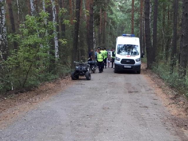 На Южном Урале двое подростков разбились, катаясь на квадроцикле
