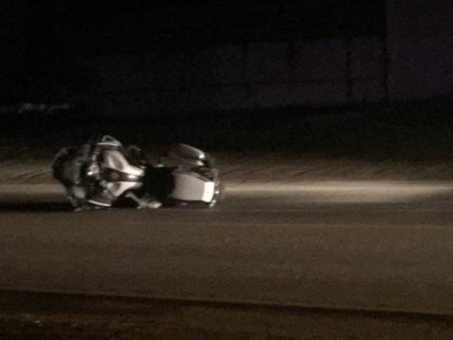 На Южном Урале 19-летняя девушка за рулём легковушки насмерть сбила полицейского на мотоцикле