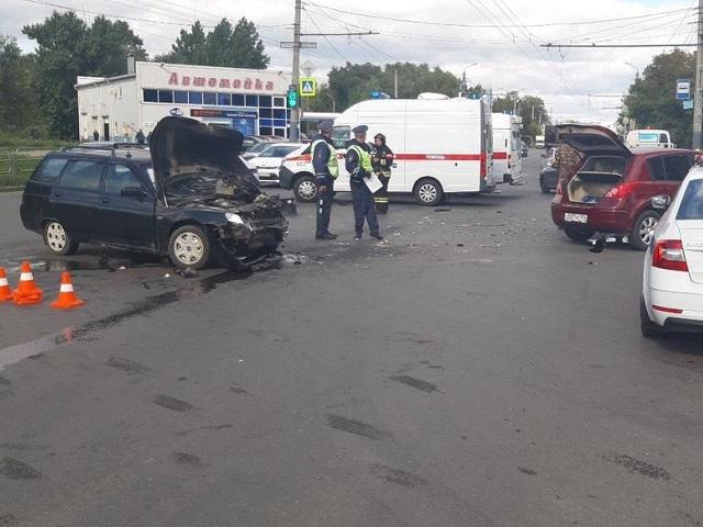 Семья с грудным ребенком пострадала в ДТП в Челябинске