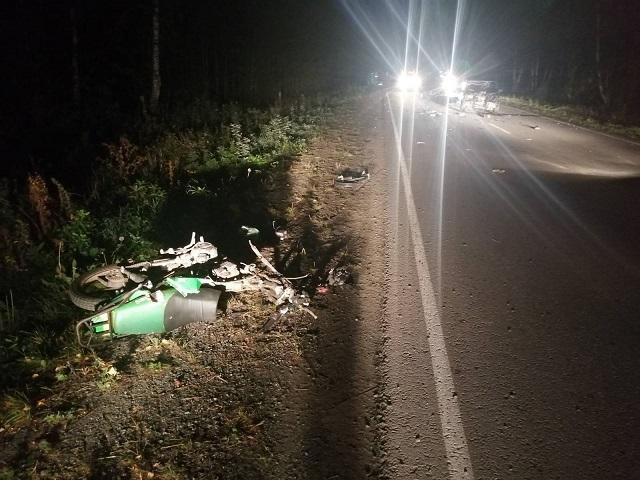 В Челябинской области в ДТП погиб 18-летний пассажир мотоцикла. Видео