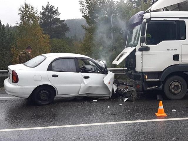 На трассе в Челябинской области произошло смертельное ДТП