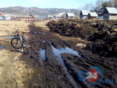 Прогулки к озеру Тургояк по колено в грязи