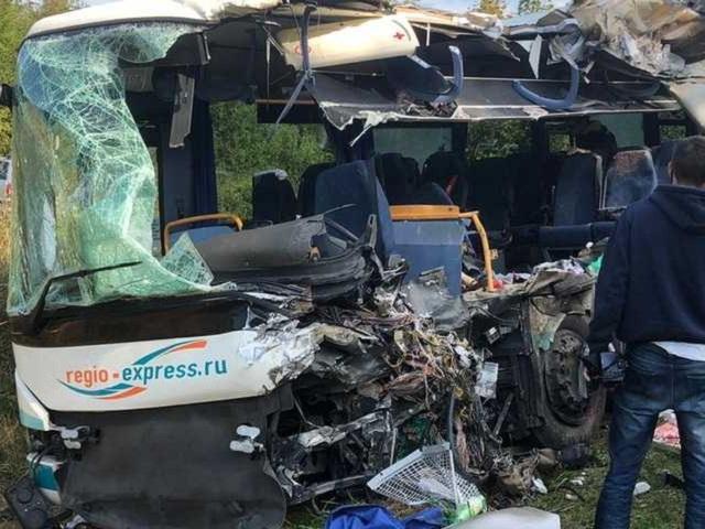 Южноуральцы пострадали в страшной аварии с автобусом под Калининградом
