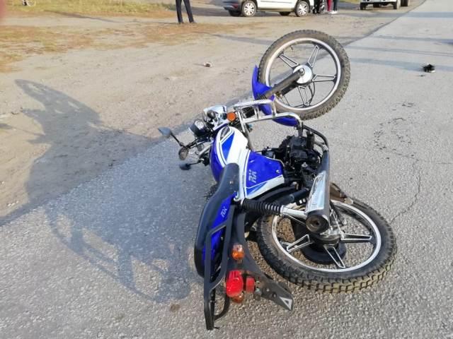 На Южном Урале трое детей на скутере попали в смертельное ДТП
