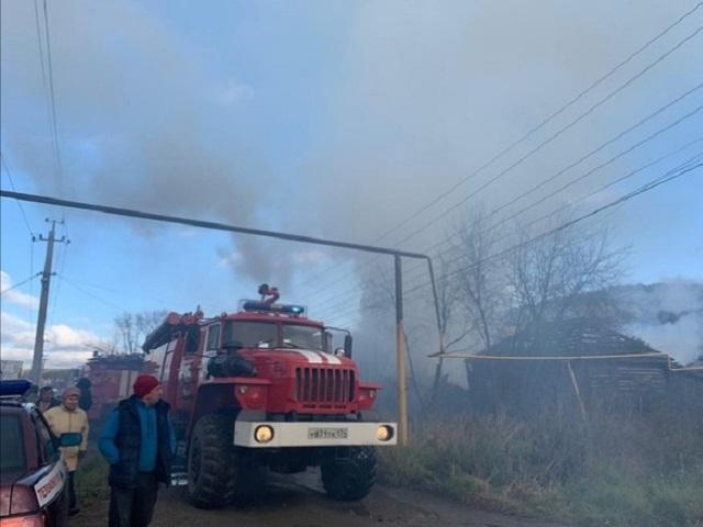 В Челябинской области мужчина сгорел при пожаре в собственном доме