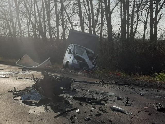 Чудовищное лобовое ДТП в Челябинской области унесло жизни трёх человек
