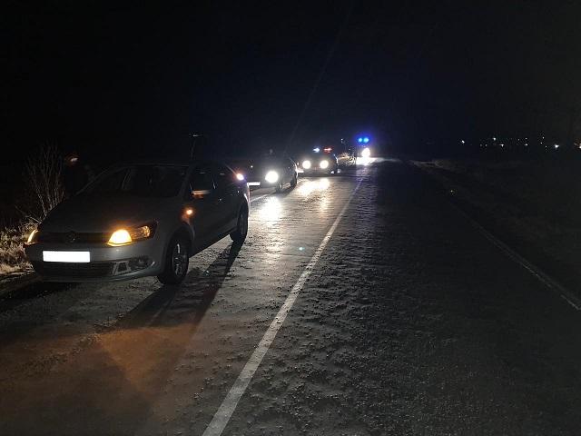 На Южном Урале водитель иномарки насмерть сбил неизвестного мужчину