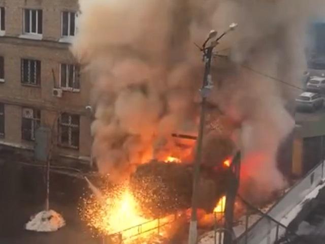 На Южном Урале прогремел взрыв. ВИДЕО
