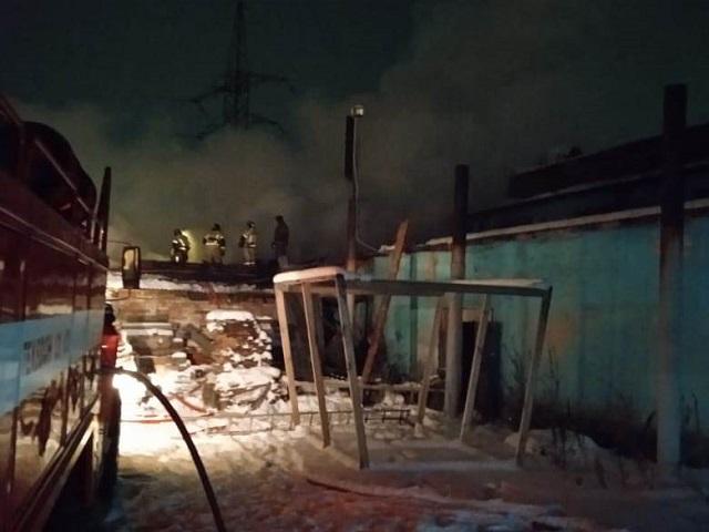 В Челябинской области потушили крупный пожар