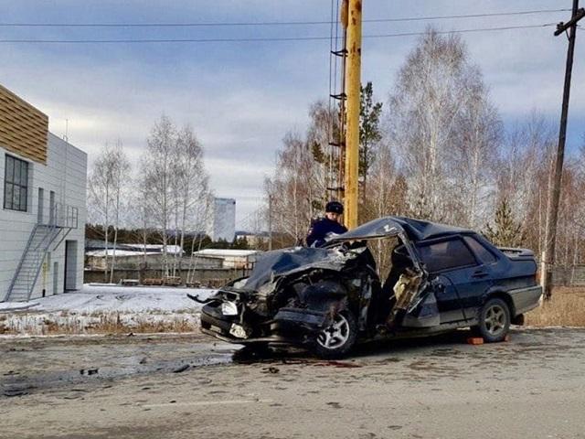 В Челябинской области молодая автомобилистка устроила массовое ДТП