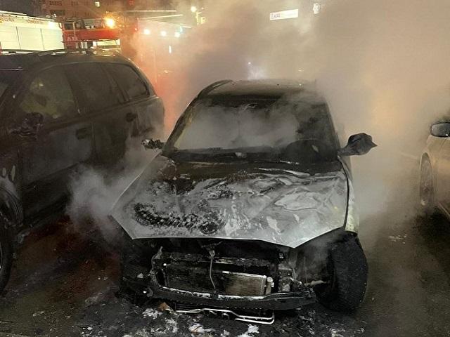 В Челябинске подожгли автомобиль журналистки Znak.com
