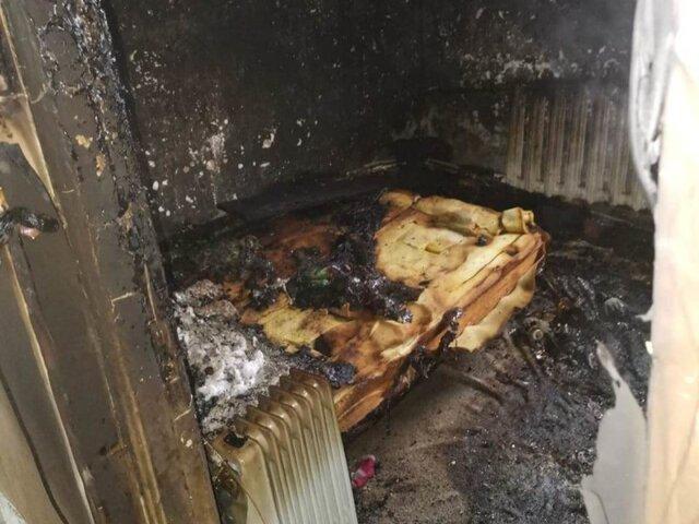 Одна дома: в Челябинской области малышку спасли из горящего дома