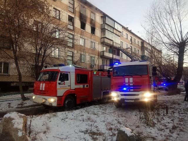 В Челябинской области на пожаре погиб человек и двое получили ожоги