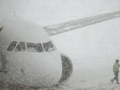Челябинский аэропорт Баландино закрыт до 19 часов