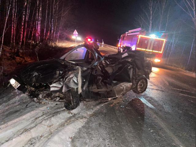 Машина всмятку: молодой южноуралец погиб в страшной аварии