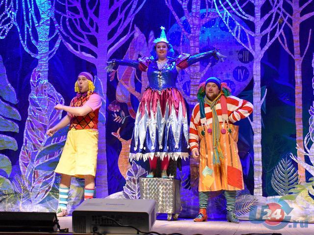 В Южноуральске прошла Рождественская губернаторская елка