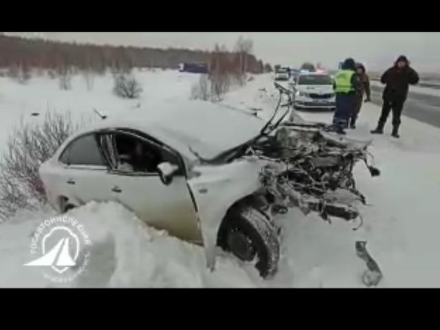 На трассе под Челябинском произошло смертельное ДТП