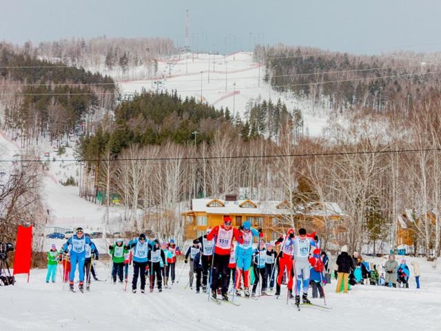 В «Солнечной долине» завершилась «Лыжня России»