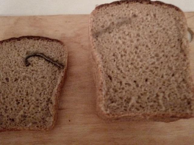 Жительница Южного Урала обнаружила в хлебе ржавый гвоздь