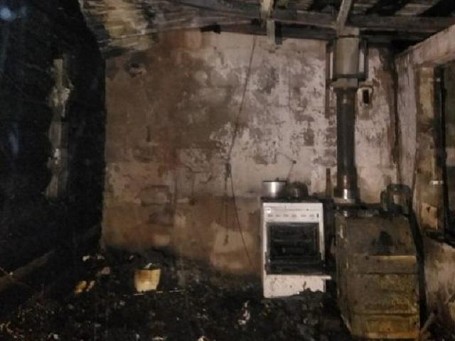 В Челябинской области на пожаре пострадал мужчина