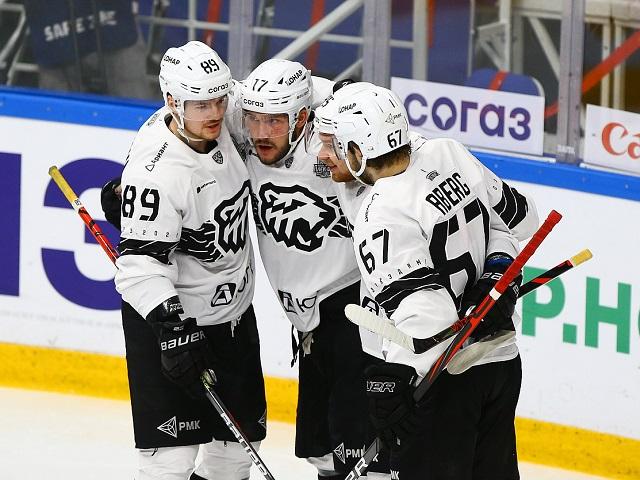 «Трактор» обыграл «Салават Юлаев» в первом матче серии плей-офф