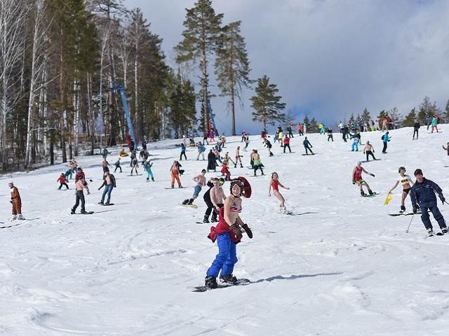 Альпийская весна на южноуральском курорте – в «Солнечной долине» разгар горнолыжного сезона