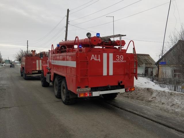 В Челябинской области мужчина погиб на пожаре