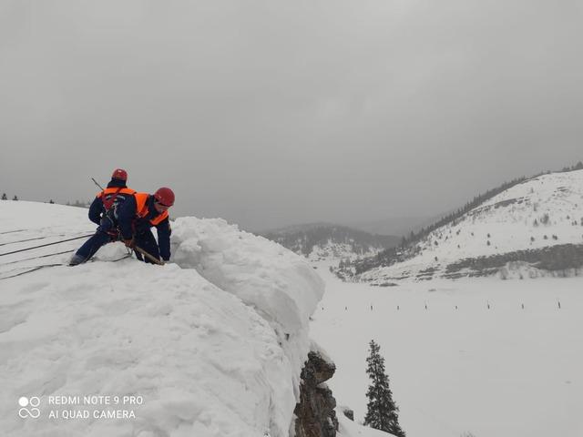 Южноуральскому городу угрожает сход лавины с 800-метрового хребта